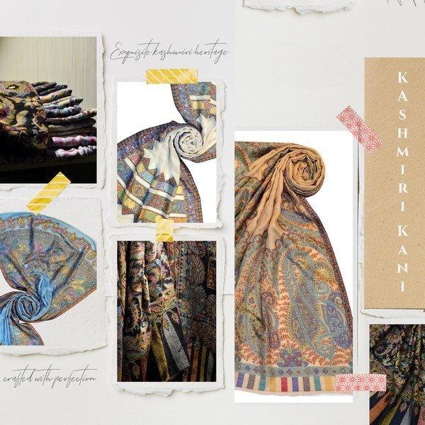 kashmiri kani shawls at whoelsale price