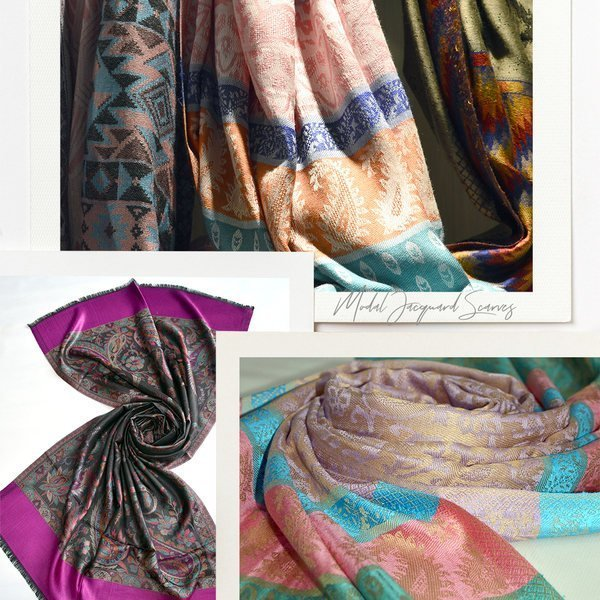 modal viscose scarves made in india - buy at wholesale prices