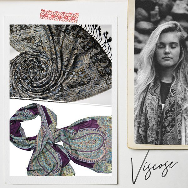 Viscose scarves and shawls at wholesale prices - Tri Star Overseas