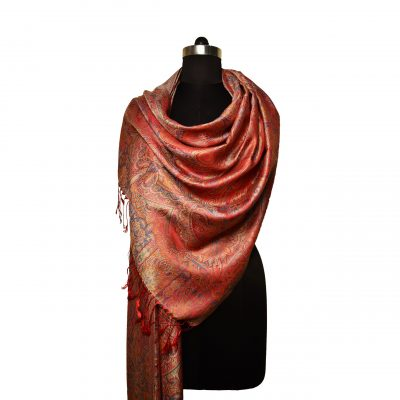 premium quality silk scarf made in india