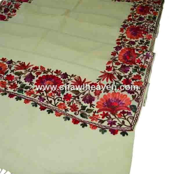 Lily Indian Embroidery Ladies Stoles