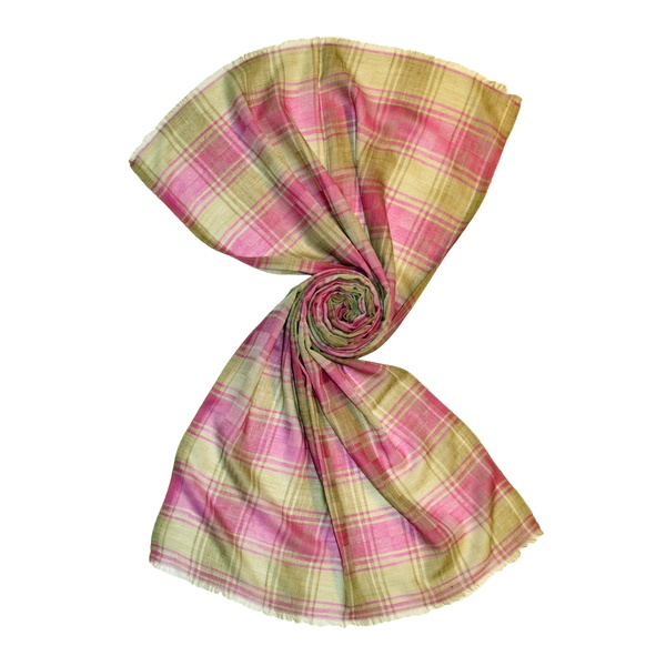 wholesale plaid tartan wool scarves from india