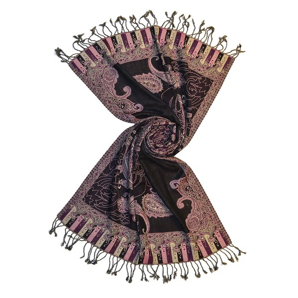pinstripes wool jacquard scarves, buy wholesale directly from manufacturer