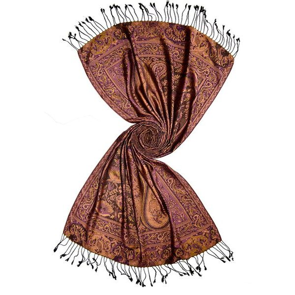 c73940d9a kashmiri silk jacquard scarf. 4392. buy indian silk shawls ...